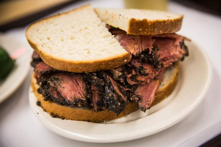 One of the oldest Jewish delis in New York City, Katz is a favorite of tourists and locals alike, stacking pastrami inches high before slathering it in brown mustard and sandwiching it between two pieces of bread. Katz Pastrami / A present idea from the @nytimes 2014 Holiday Gift Guide (Photo: Andrew Burton)