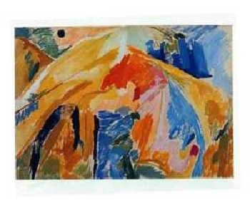 Else Alfelt - The Mountain 2 -1945