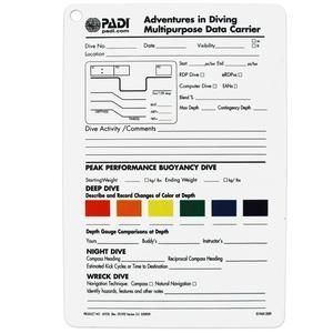 PADI Adventures in Diving Slate | This product and more at http://www.watersportswarehouse.co.uk/shop/scuba-diving-equipment.html #ScubaDivingEquipmentandSites