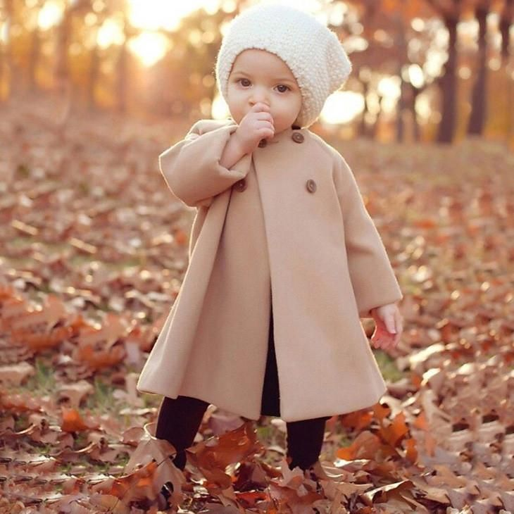Khaki Forest Overcoat | Babies | French baby, Baby Names, Cute baby girl