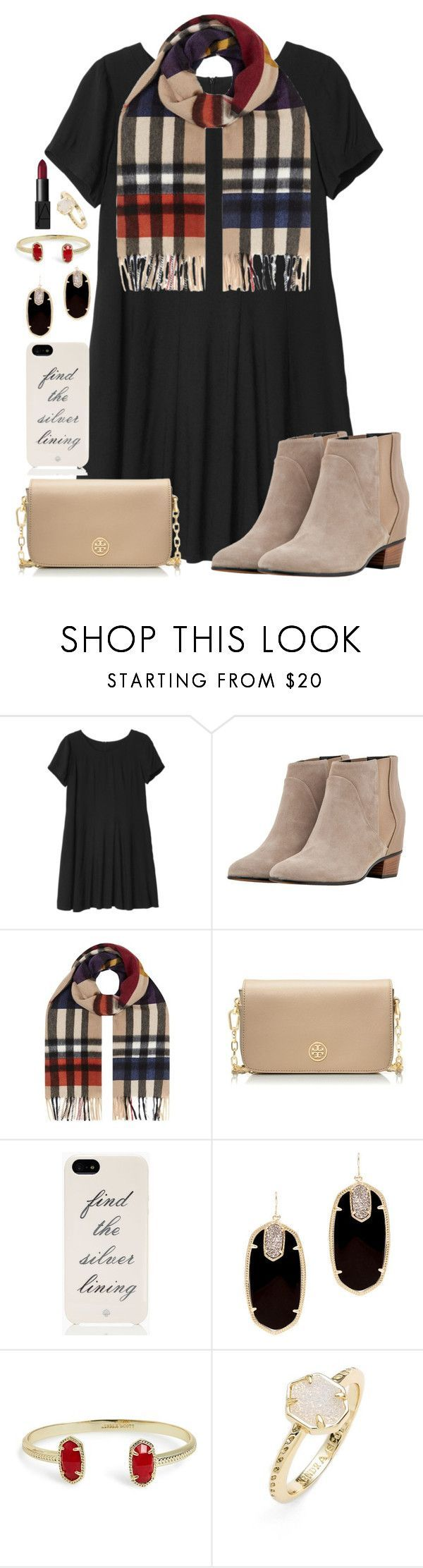 """""""day 9: Christmas Eve dinner and church service"""" by julesnewkirk ❤️ liked on Polyvore featuring moda, Monki, Golden Goose, Burberry, Tory Burch, Kate Spade, Kendra Scott, NARS Cosmetics y Christmascontest"""