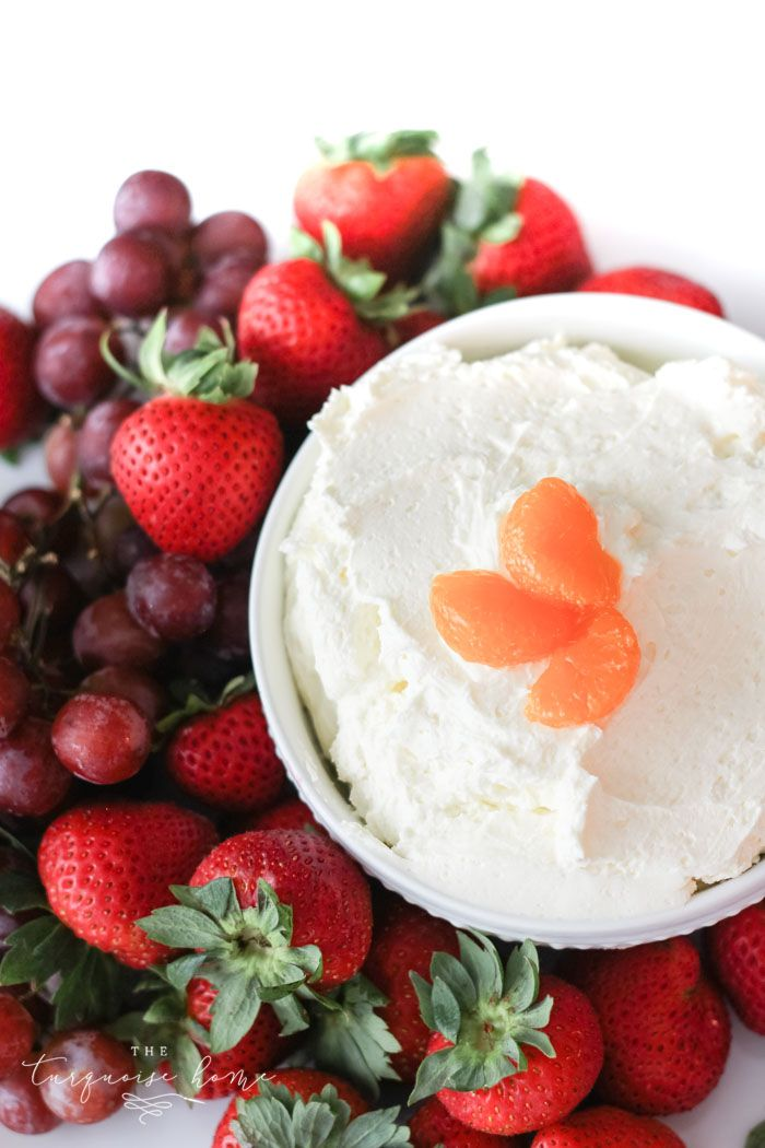 Tastes like summer! And super easy to make! Orange Dreamsicle Dip