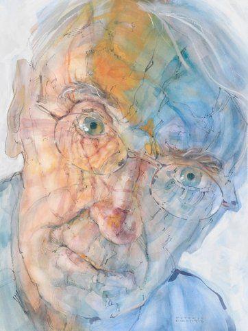 Making Sense of Place #4 (Portrait of Professor George Seddon), 2007 by Peteris Ciemitis
