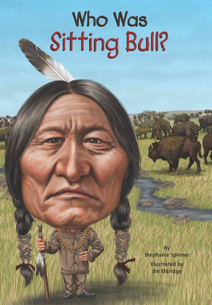 Biography: No one knew the boy they called Jumping Badger would grow to become a great leader. Born on the banks of the Yellowstone River, Sitting Bull, as he was later called, was tribal chief and holy man of t