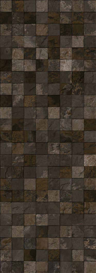 MOSAÏQUES ET DÉCORÉES - MOSAICO TIBET BLACK PV 31,6X90