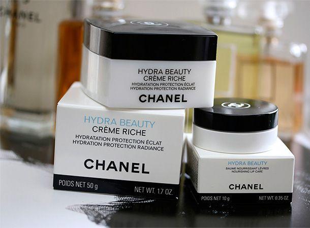 New Skincare From Chanel: Hydra Beauty Creme Riche and Hydra Beauty Nourishing Lip Care http://www.makeupandbeautyblog.com/daily-beauty-cat/chanel-hydra-beauty/ #MakeupCafe