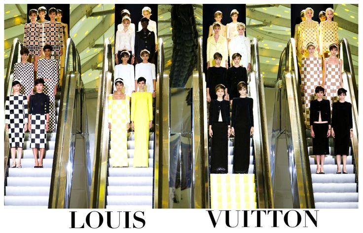 Louis Vuitton in Prêt à Couture chapter. #LouisVuitton #Prêt-à-Couture #HauteCouture #catwalks #fashion #woman #style #clothes #dress #look
