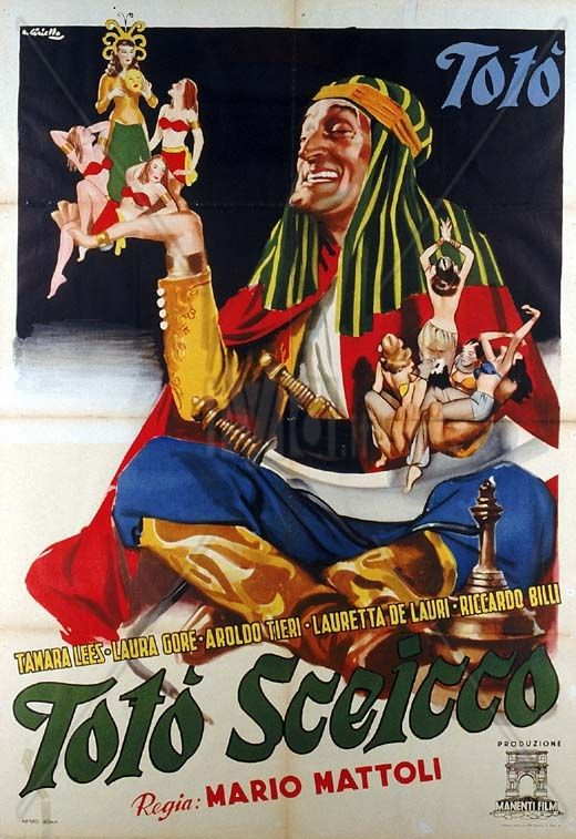 Totò Sceicco, 1950.