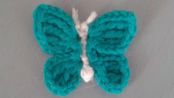 Schmetterling häkeln - Anleitung