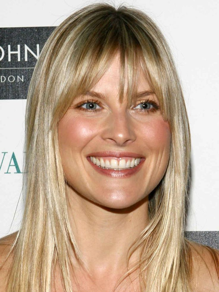 the best (and worst) bangs for pear-shaped faces