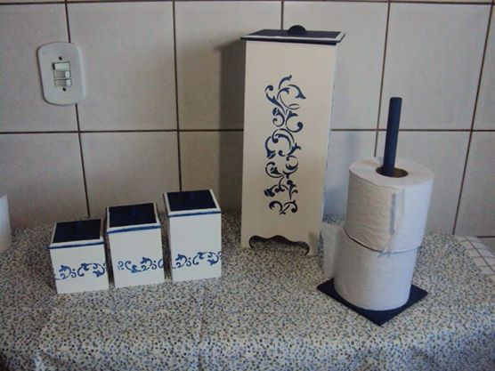 Adesivo De Banheiro Pastilha ~ 17 melhores imagens sobre Kit para banheiro no Pinterest Madeira, Artesanato e Stencils