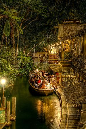 Adventureland & Jungle Cruise... Is it possible to decorate your house in the theme of a disney ride?