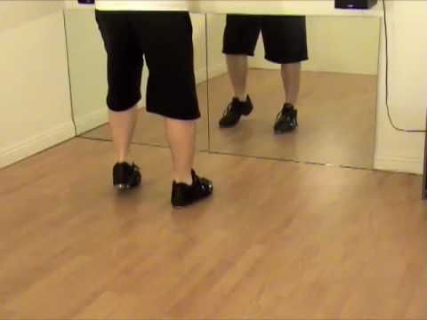 ▶ Old #1 Beginner Tap Dance Class by Rod Howell at unitedtaps.com - YouTube