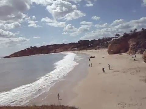Albufeira Beach Live Cam Record - YouTube