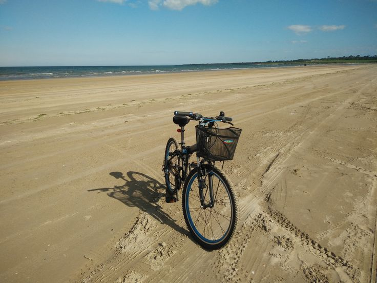 Bike on sand