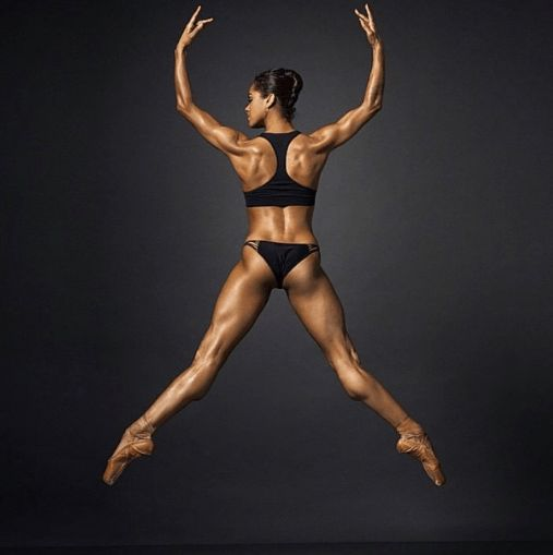 #MistyCopelandSlayin | After Being Accused of Photoshop, Misty Copeland Brings Receipts Showing Her Body is Just That Insane