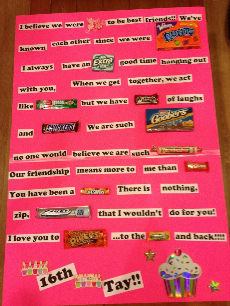 Best Friend Birthday Card!!! I am doing this for my BFF birthday tommorow!!!!!!!!!!!!!!!!!!!
