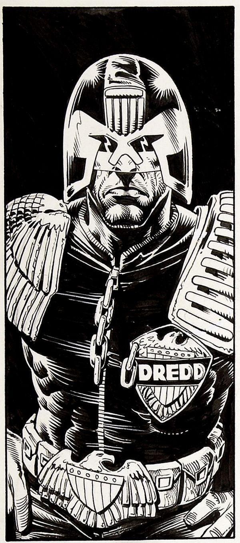 Judge Dredd - Brian Bolland