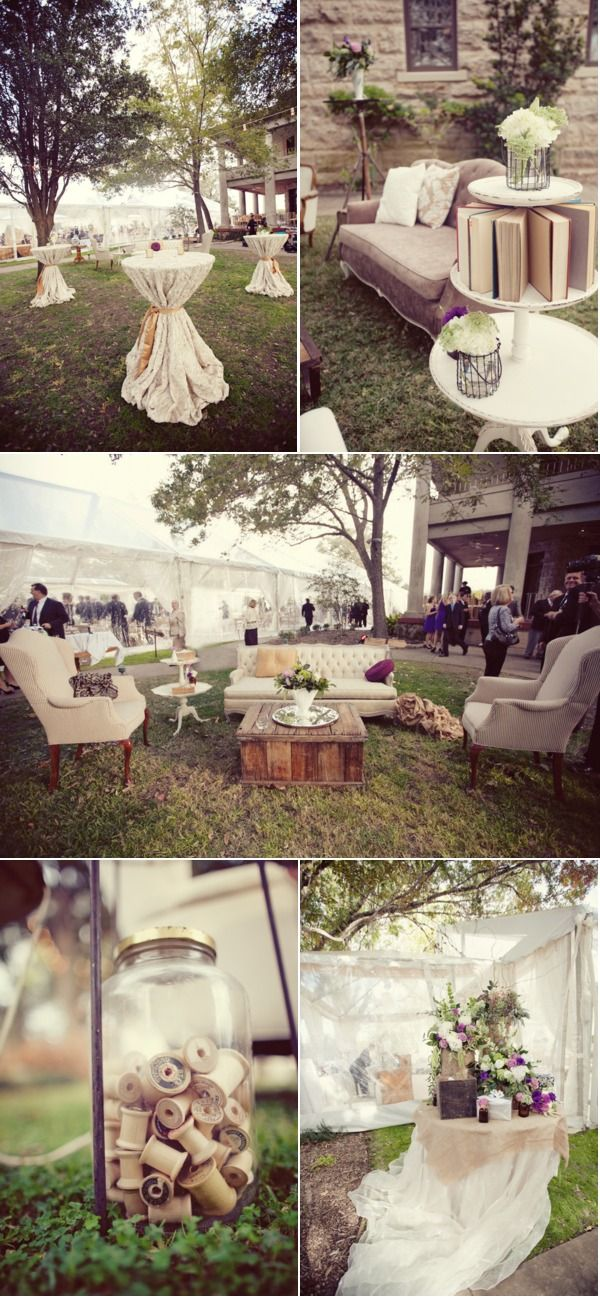 39 best images about outdoor cocktail receptions on pinterest for Outdoor cocktail party decorating ideas