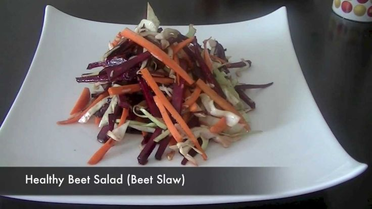 Tasty Beet Salad Recipe (Healthy Vegetarian Salad)