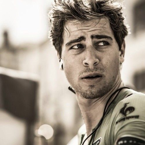 Peter Sagan - Tinkoff-Saxo team. I'd like to see him win some stages in the 2015 Tour de France!