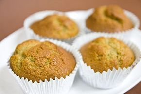 Queques (muffins) de banana - Receita Petitchef