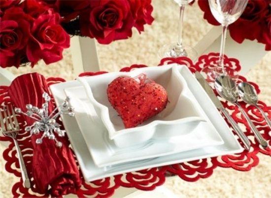 Geschenke Ideen-Liebevoll Herz-Valentinstag Abendessen-speziell