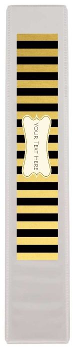 Free custom binder spine template.