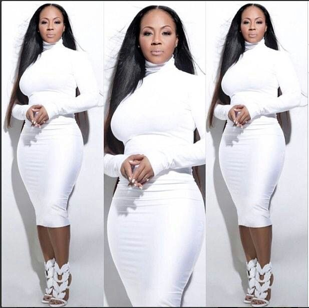 Erica is my celebrity body type!  Yes honey embrace the curves.