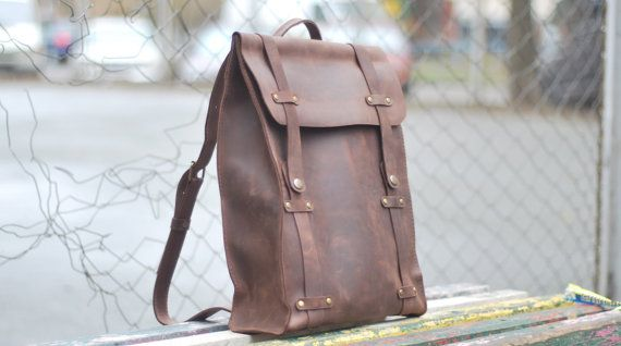 Hey, I found this really awesome Etsy listing at https://www.etsy.com/listing/221168175/genuine-leather-backpack-model-p006-100