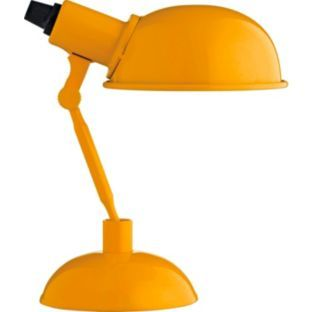 Buy Habitat Tommy Yellow Desk Lamp at Argos.co.uk - Your Online Shop for Table lamps.