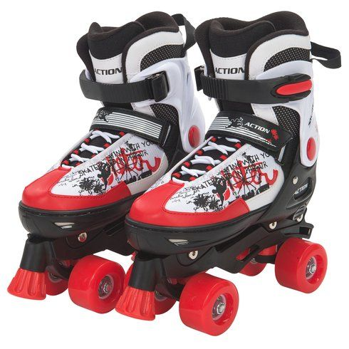 Buy Blindside Quad Skate 4-7 (UK) Red/White Online at Smyths Toys Ireland Or Collect In Local SmythsToys! We Stock A Great Range Of Quad Rollerskates At Great Prices.