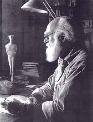 Sculptor Tom Bass (1916 –2010)