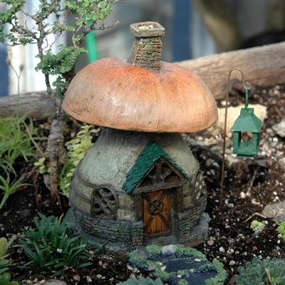Fiddlehead Fairy Toadstool Cottage