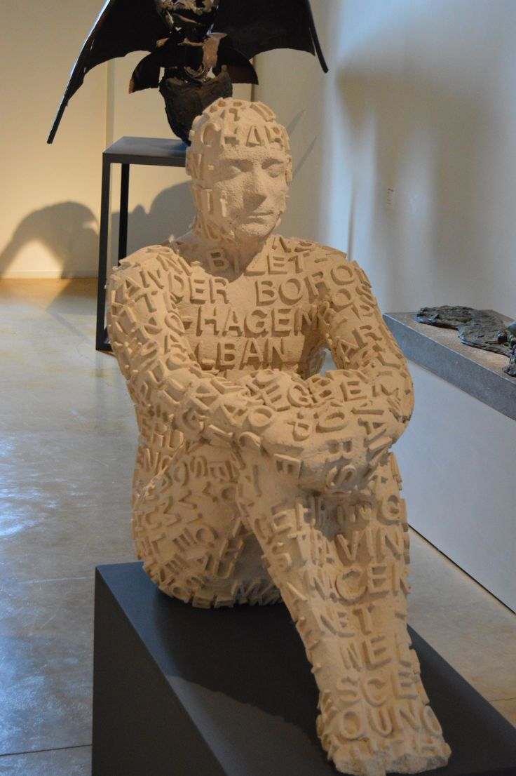 """As an author I love this sculpture of """"A Man of Letters"""" in the Museum of Contemporary Art in Palafrugelle, Spain. http://www.amazon.com/-/e/B001KCABGK"""