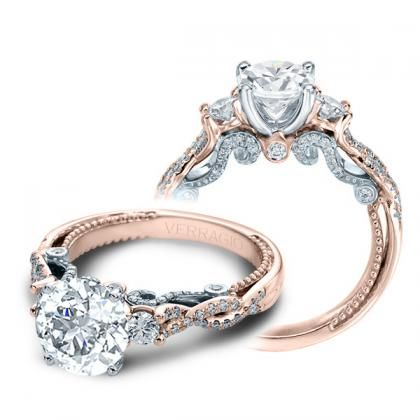 Image Result For Engagement Rings Two Tone Rose Gold