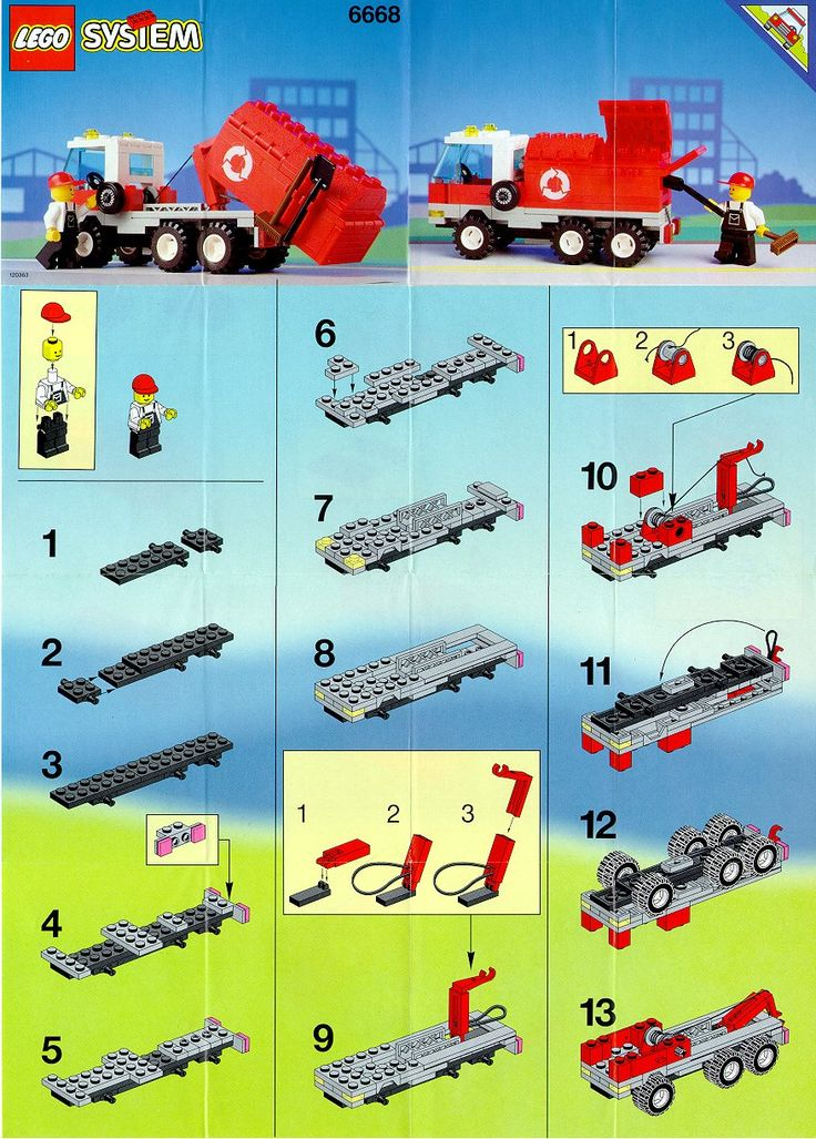 117 Best Lego Images On Pinterest Vintage Lego Lego Instructions