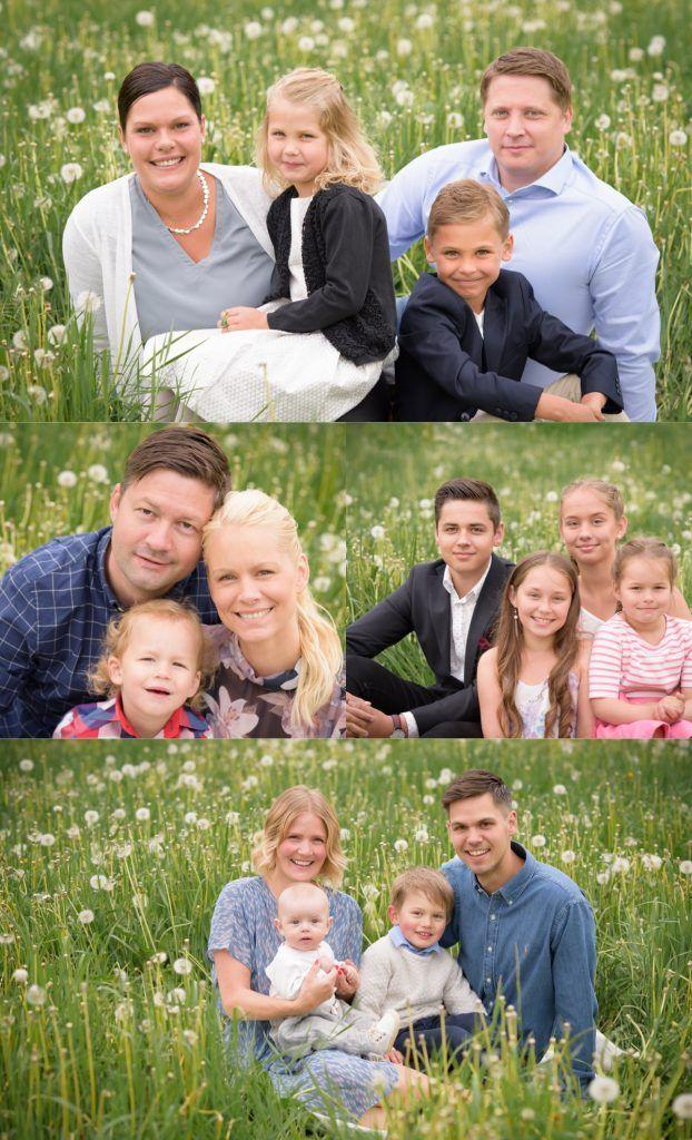 Stor släktfotografering, familjefotografering och barnfotografering med Fotograf Maria Lindberg. Large family photoshoot by Swedish photographer Maria Lindberg. www.fotografmarialindberg.se