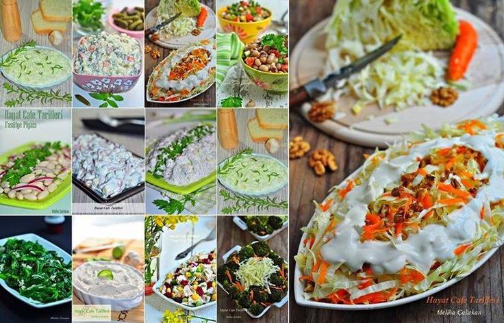 """Yılbaşı için salata ve mezeler Kolay Meze Tarifi Soğuk Mezeler Yılbaşı yaklaşırken salata ve meze tarifi arayanlara belki faydalı olur düşüncesiyle bir liste hazırladım. Her ne kadar mezelerim çok az olsa da salatalarımz bir göz atın derim:) Öncelikle yılbaşında"""" tavuk dolmasıyla filan uğraşamam ama illede tavuk olsun derseniz """" FIRIN POŞETİNDE TAVUK mutlaka göz atın:)Read More"""