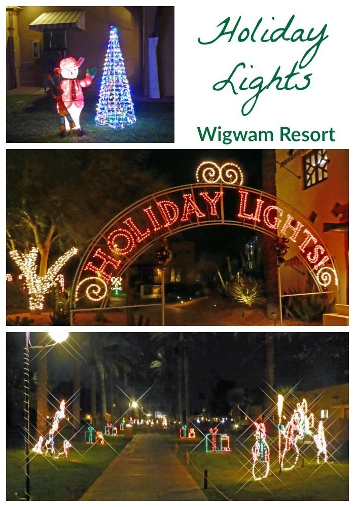 Holiday Nights in Lights Wigwam Resort in Phoenix
