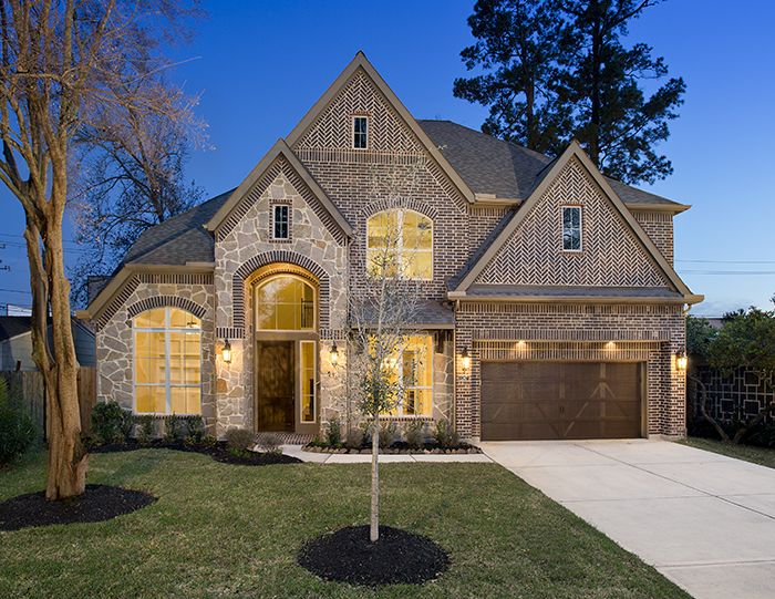 Perry Homes - Oak Forest Estate Series Design 4342 - Houston, Tx