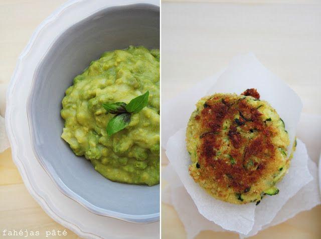 Green peas & zucchini fritters