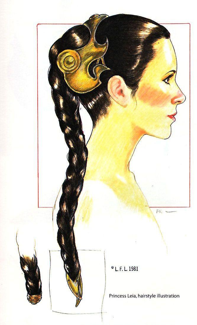 Princess Leia's Hair - Slave Leia Wiki