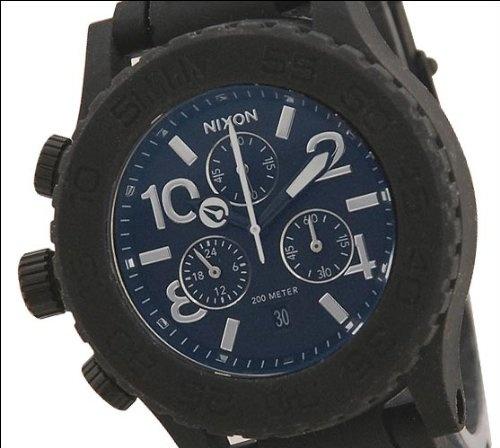 Nixon Rubber 42-20 Chrono Watch - Men $291.95 http://amzn.com/B006GA3IR0 #MenWatch
