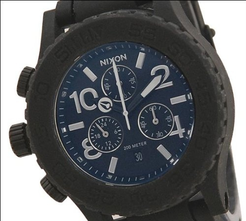 Nixon Rubber 42-20 Chrono Watch - Men $291.95 http://amzn.com/B006GA3IR0 #MenWatch