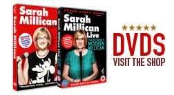 Sarah Millican's Official Website | SarahMillican.co.uk  ~ laughter the best medicine ☆¨¯`♥ ¸.☆¨¯`♥ ¸.☆¨¯`♥