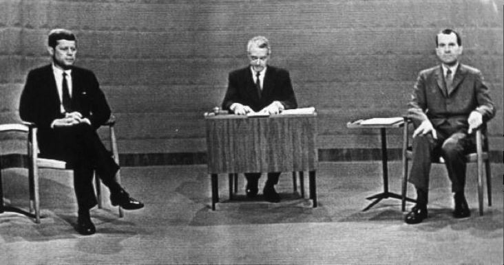 First televised presidential debate, JFK and Nixon