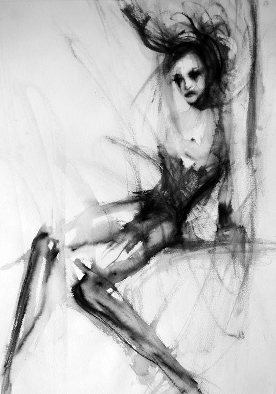 "Saatchi Online Artist: Fiona Maclean; Acrylic, 2012, Painting ""Birdys swing"""