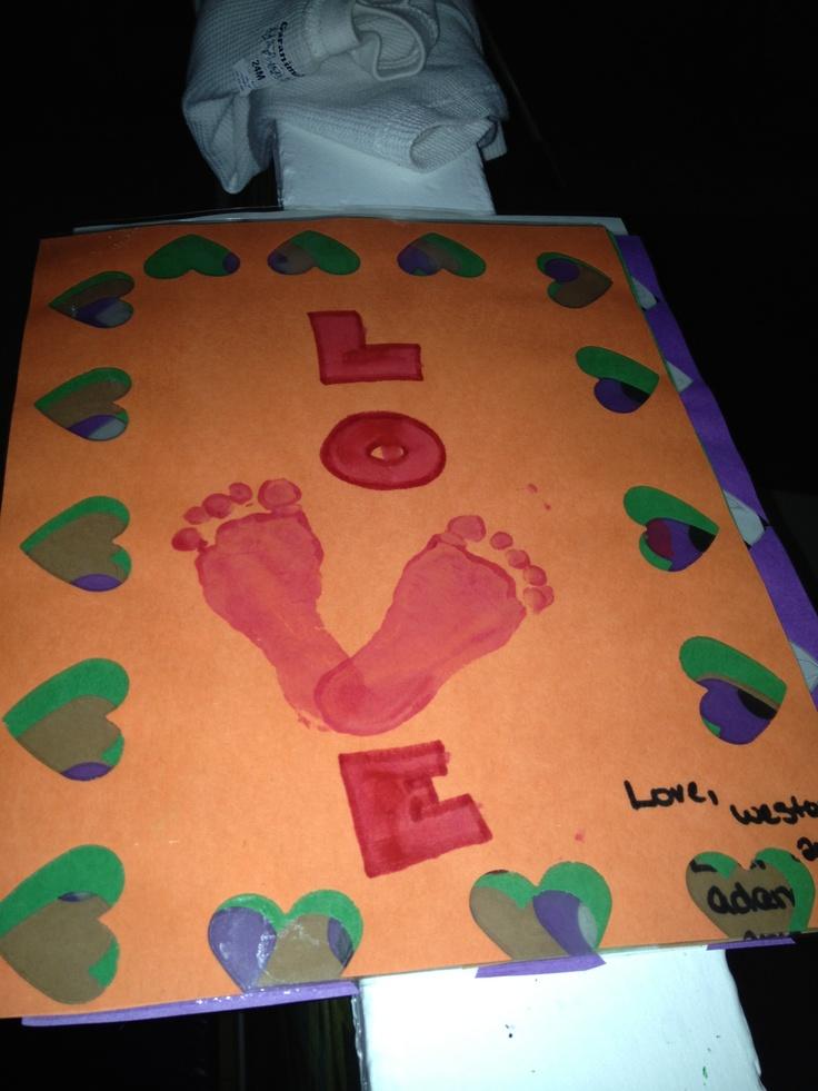 Our Valentines Craft Preschool Pinterest