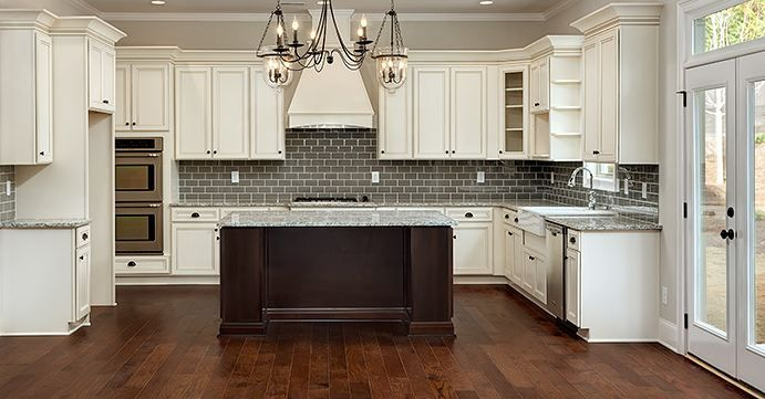 Cumberland Antique White Kitchen Cabinet Series | RTA ...